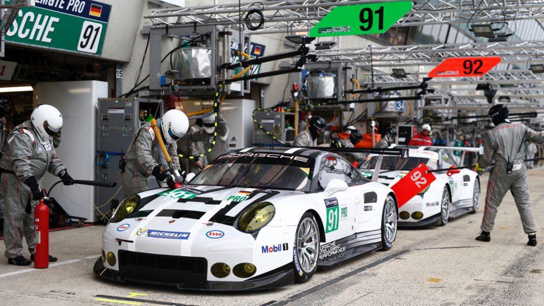 Porsche 911 RSR, WEC, Le Mans, 2016, Porsche AG