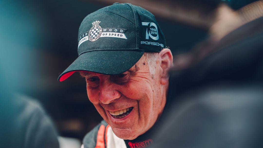 Richard Attwood, 77. Goodwood Members Meeting, Großbritannien, 2019, Porsche AG
