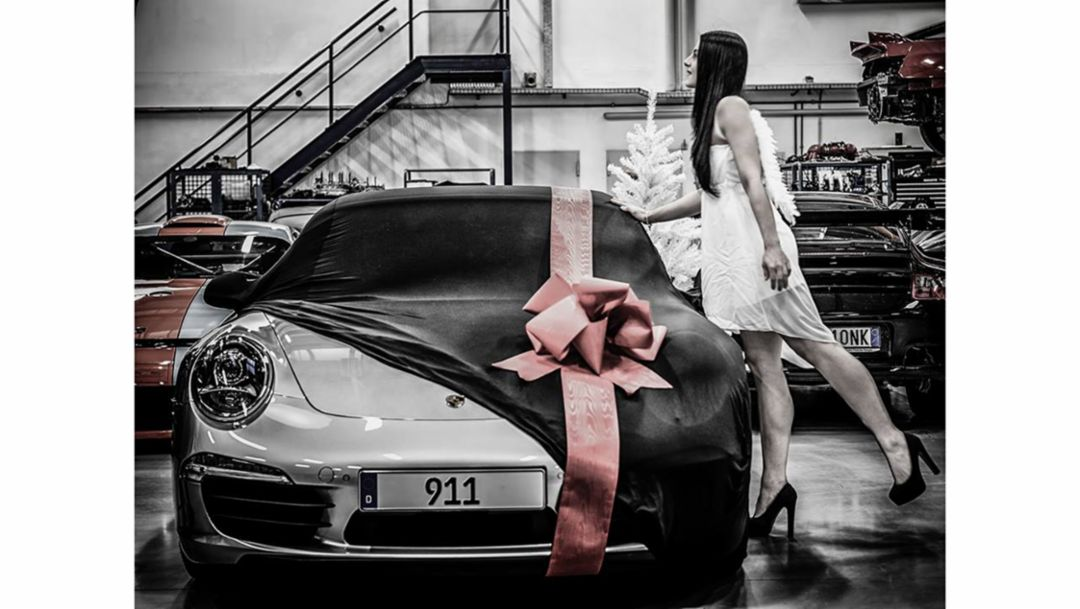 Porsche 911LND ChristmasContest 2015 Platz 1