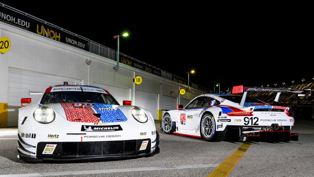 Porsche flies Brumos colours at Daytona and Sebring