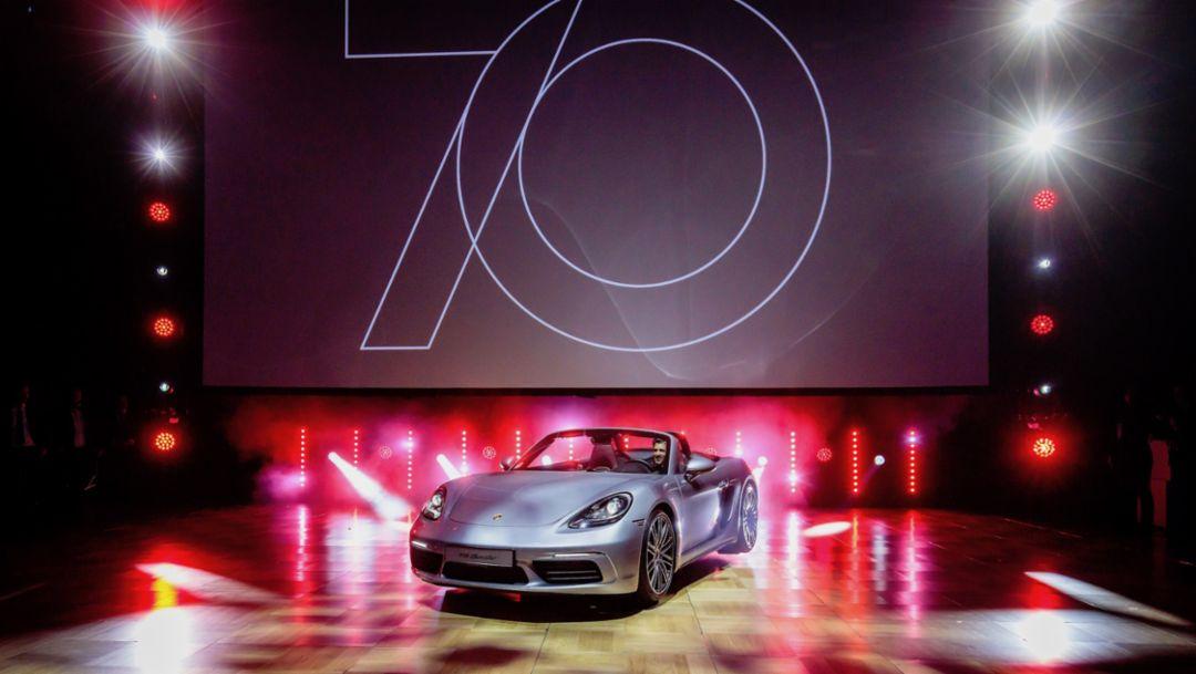 718 Boxster, Leipziger Opernball, 2018, Porsche AG