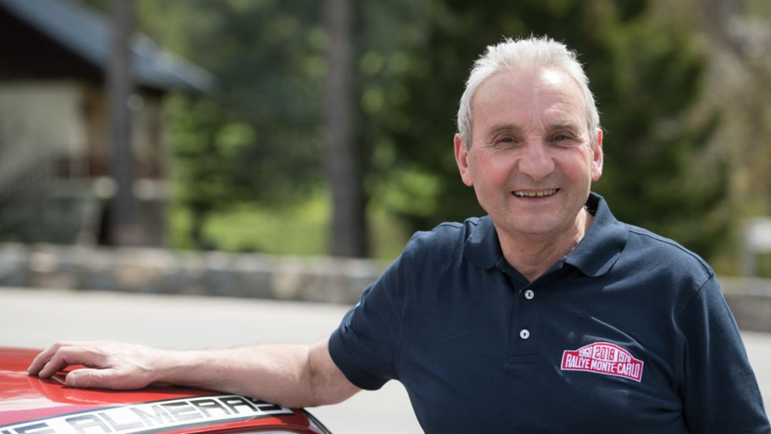 Jaques Alméras, Col de Turini, 2018, Porsche AG