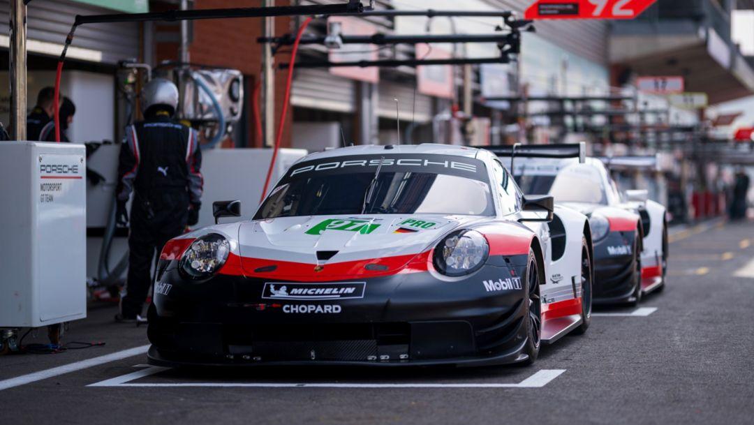 Porsche GT Team (91), Porsche 911 RSR, FIA-WEC, Spa-Franchorchamps, 2019, Porsche AG