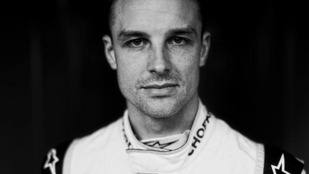 Earl Bamber, LMP works driver, 2017, Porsche AG