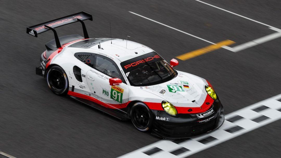 911 RSR, WEC, Shanghai, race, 2017, Porsche AG