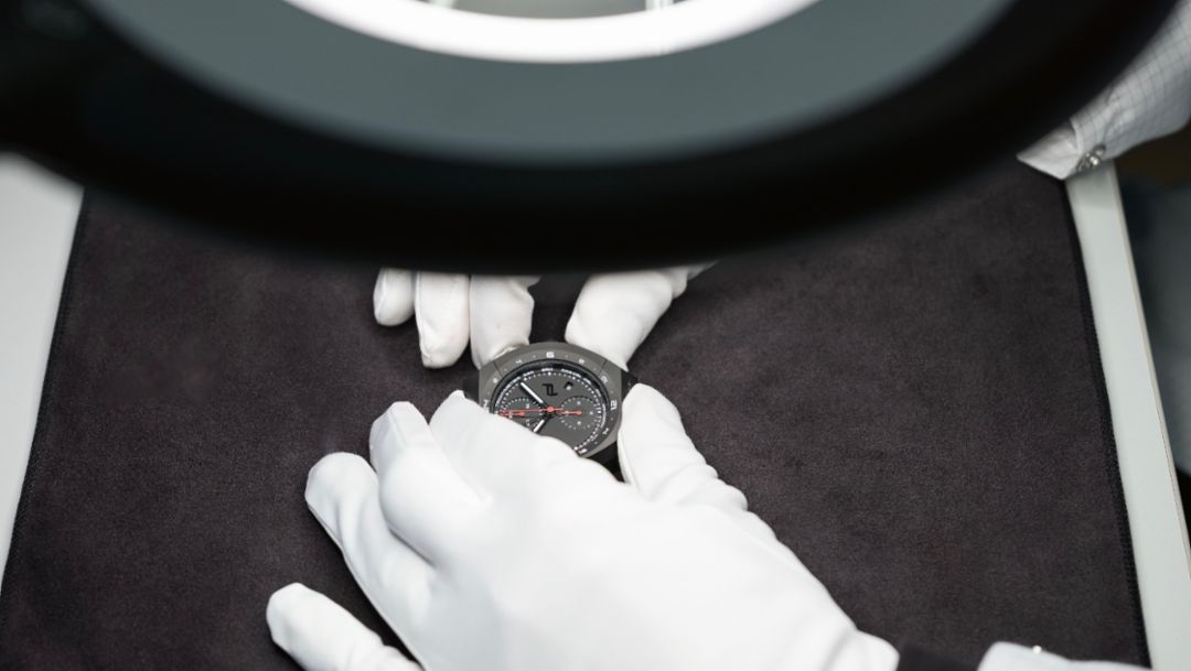Monobloc Actuator, Porsche Design Timepieces, 2017, Porsche AG