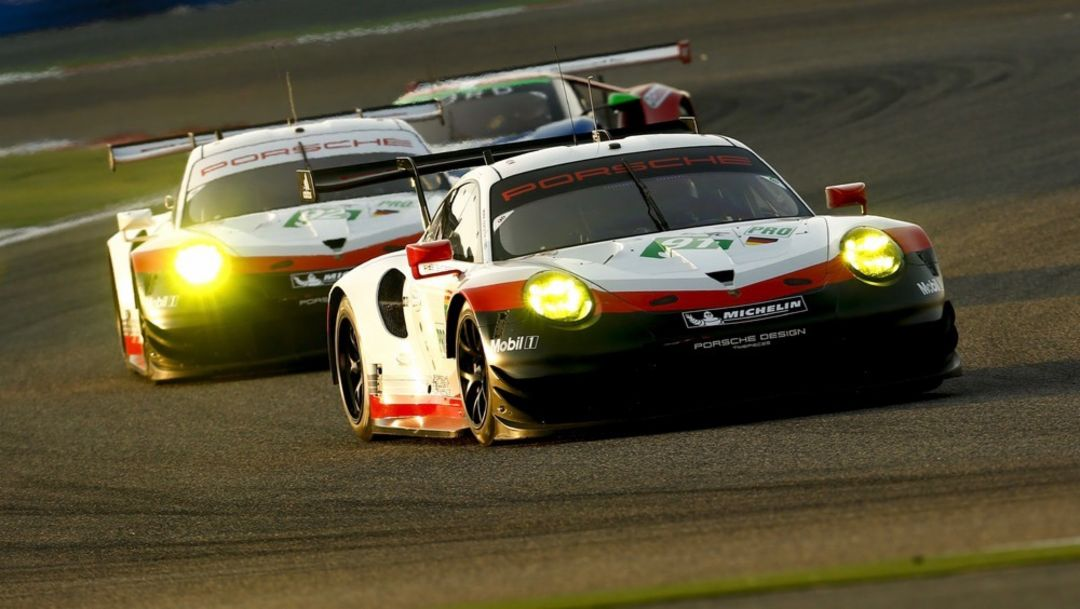 911 RSR, WEC, Bahrain, Race, 2017, Porsche AG