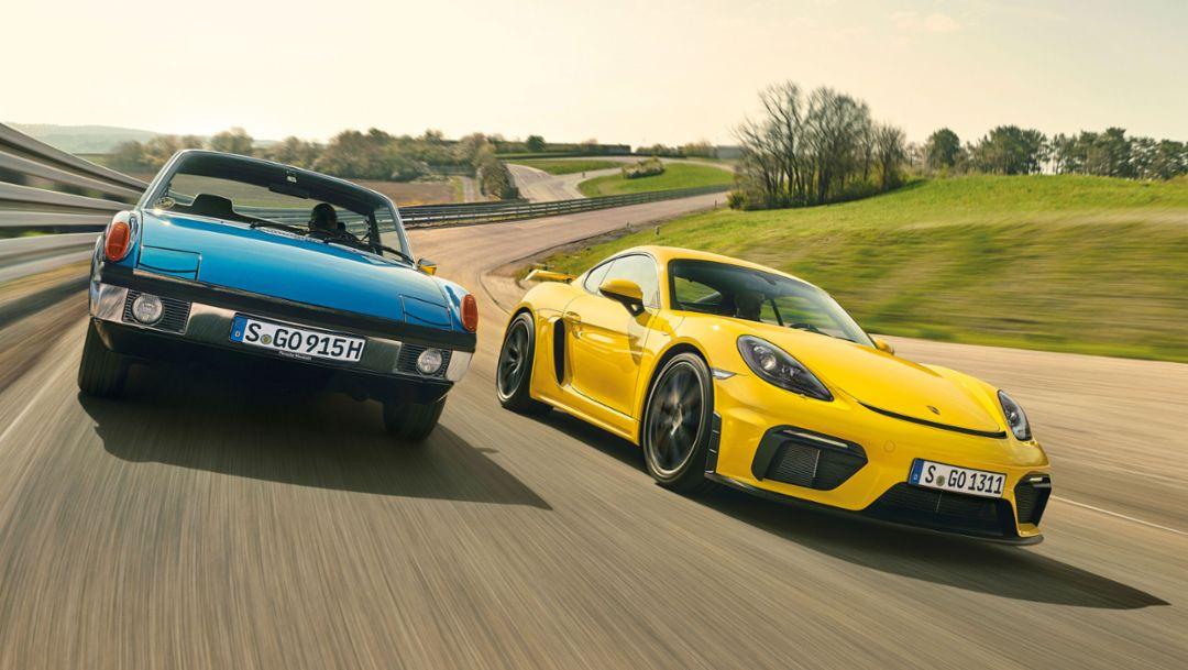 Kraft der Mitte: Porsche und das Mittelmotorkonzept