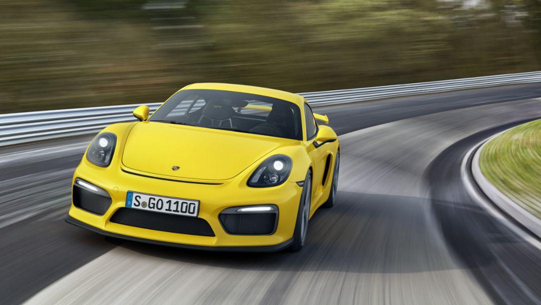 Cayman GT4, 2015, Porsche AG