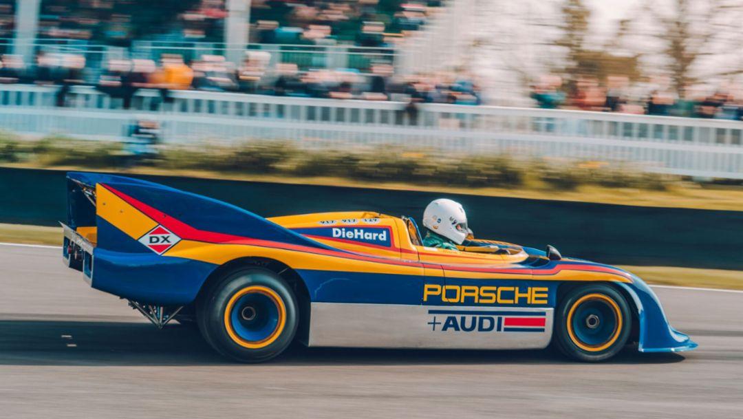 917/30 Spyder, 77. Goodwood Members Meeting, Großbritannien, 2019, Porsche AG