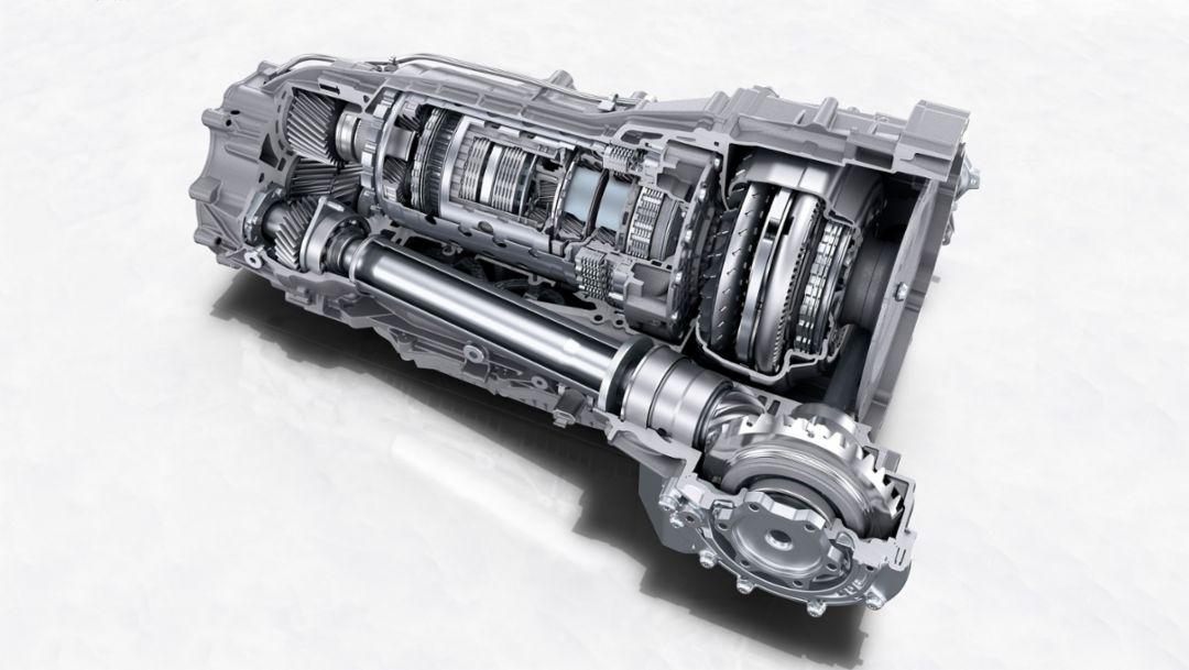 Cayenne, gearbox, 2017, Porsche AG