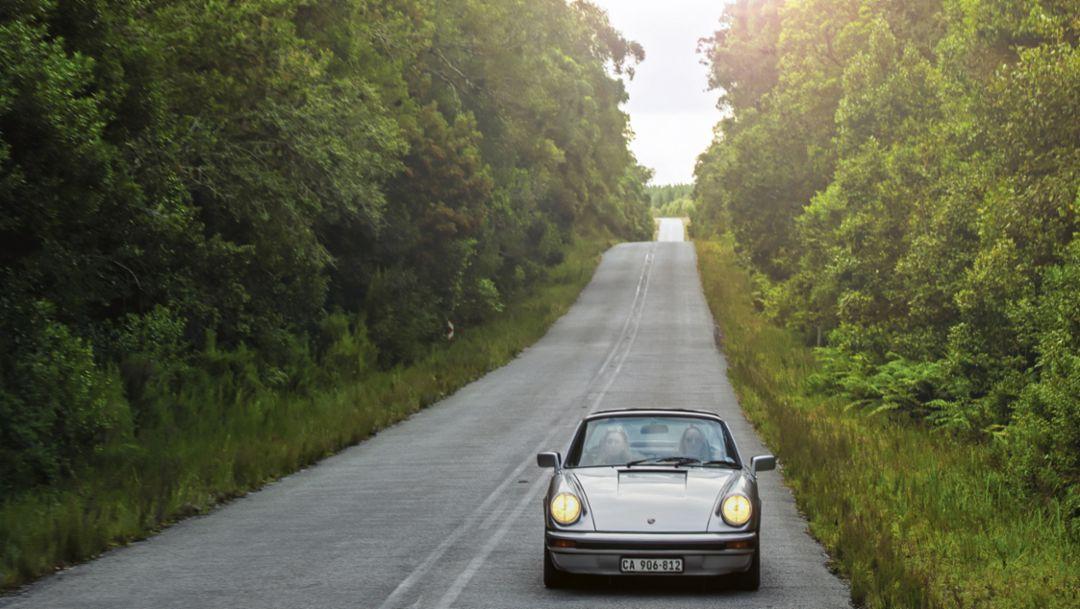 911 SC Targa, Garden Route, Südafrika, 2016, Porsche AG