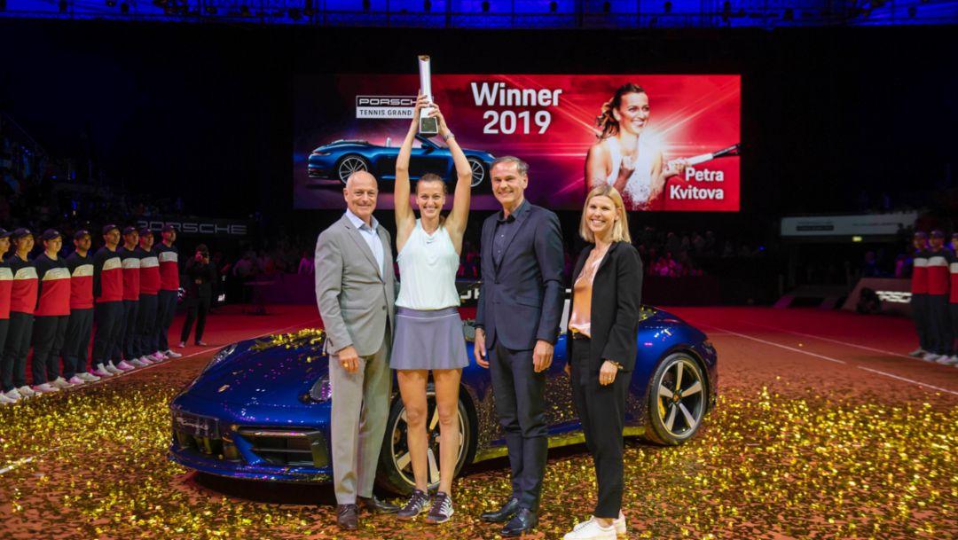 Porsche Tennis Grand Prix players' favourite tournament for tenth time
