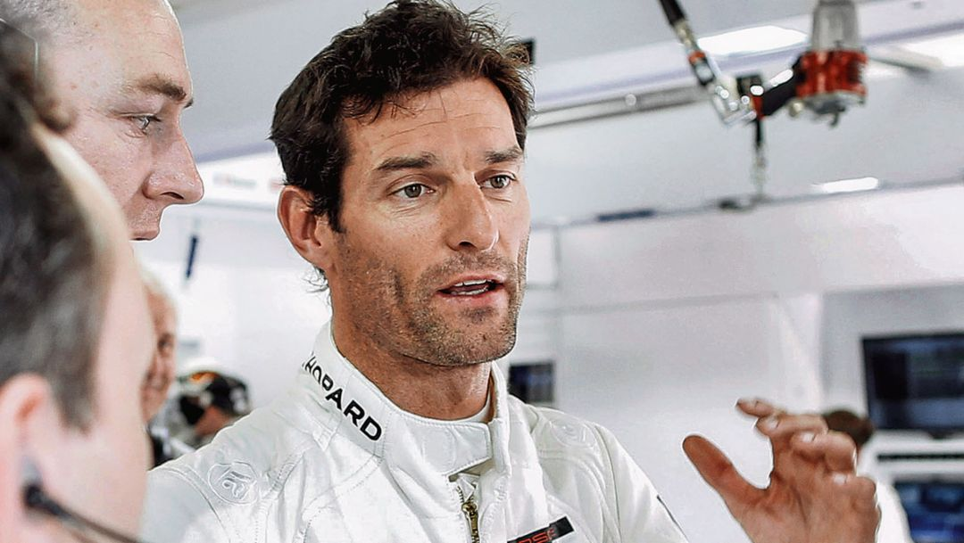 Driving test with Porsche Brand Ambassador Mark Webber