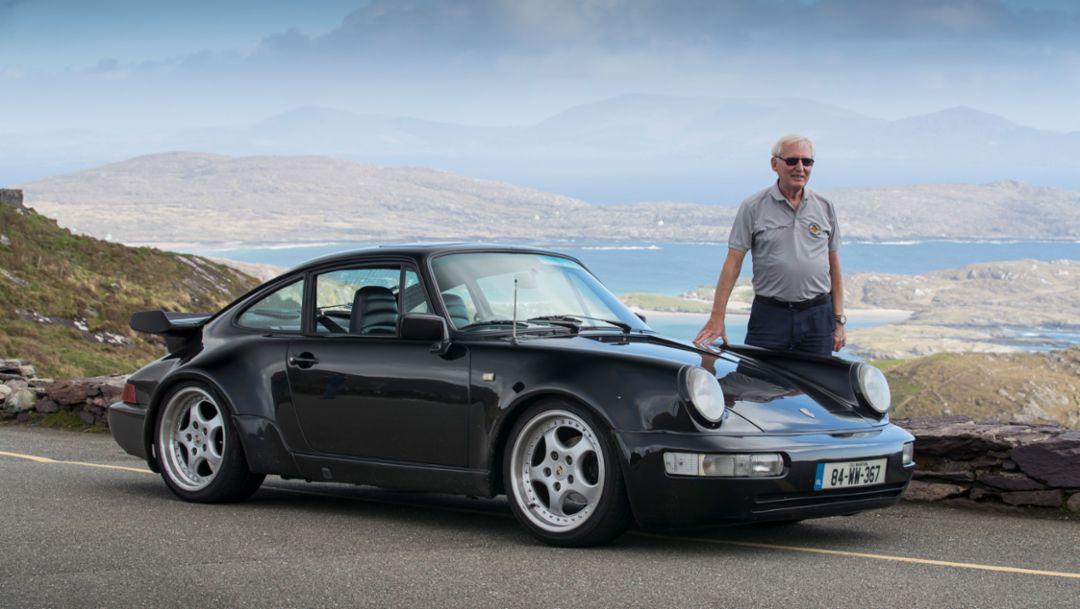 Mel Nolan, 3.2 Turbo-bodied Carrera, Ireland, 2018, Porsche AG