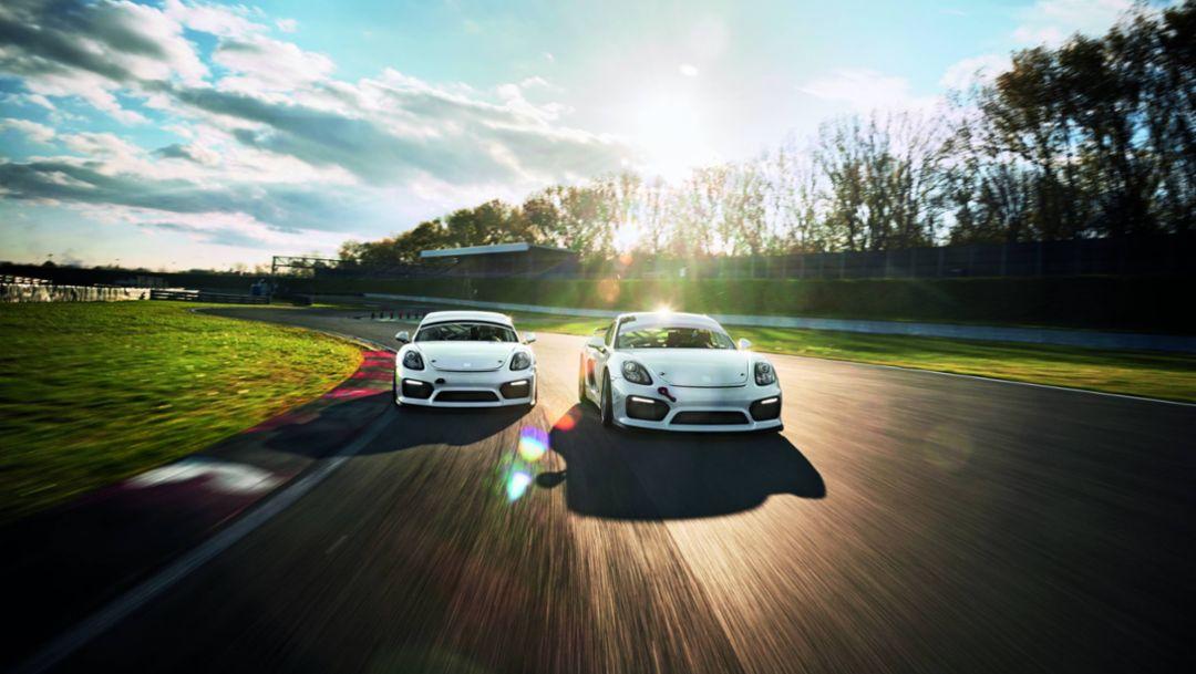 Porsche Cayman GT4, Porsche Cayman GT4 Clubsport, 2016, Porsche AG