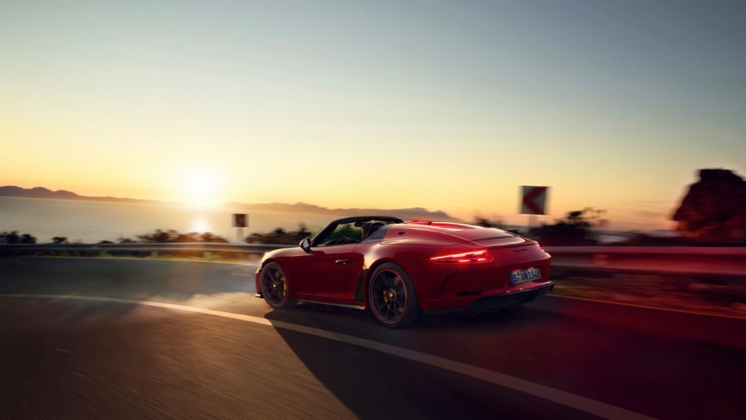 The new Porsche 911 Speedster goes into production