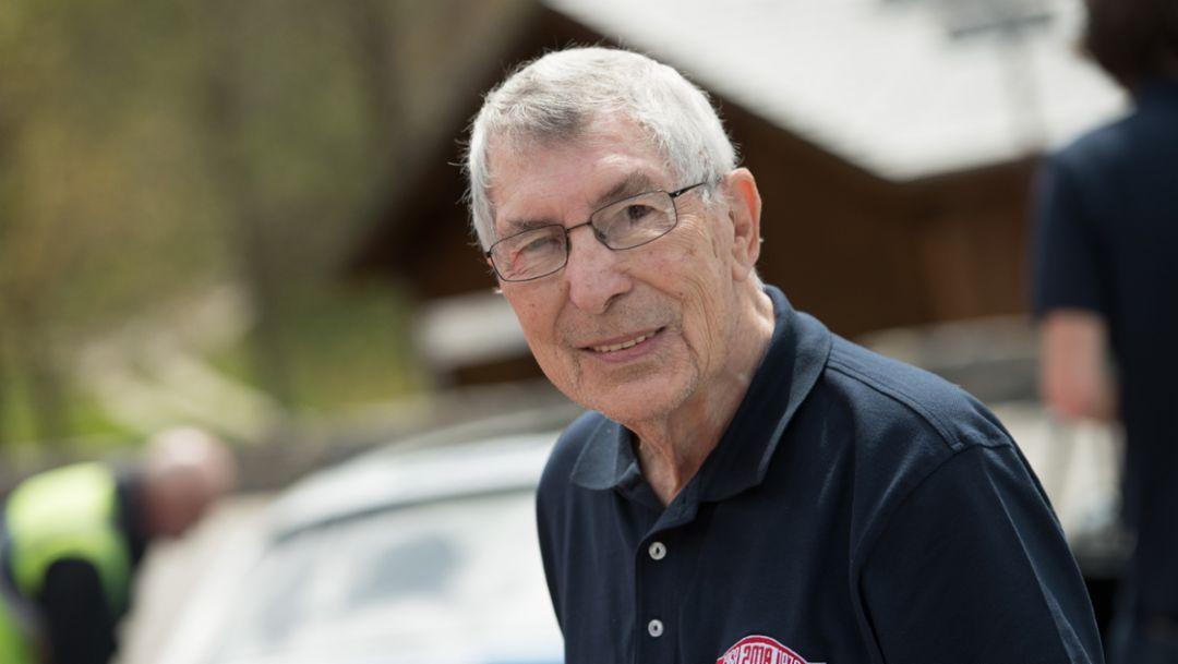 Vic Elford, Col de Turini, 2018, Porsche AG