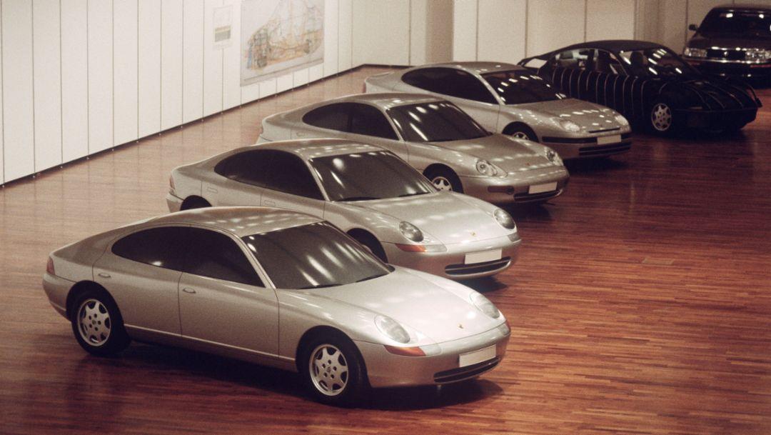 989, 1990er-Jahre, Porsche AG