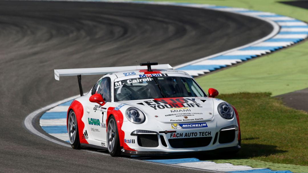 Matteo Cairoli, 2016, Porsche AG