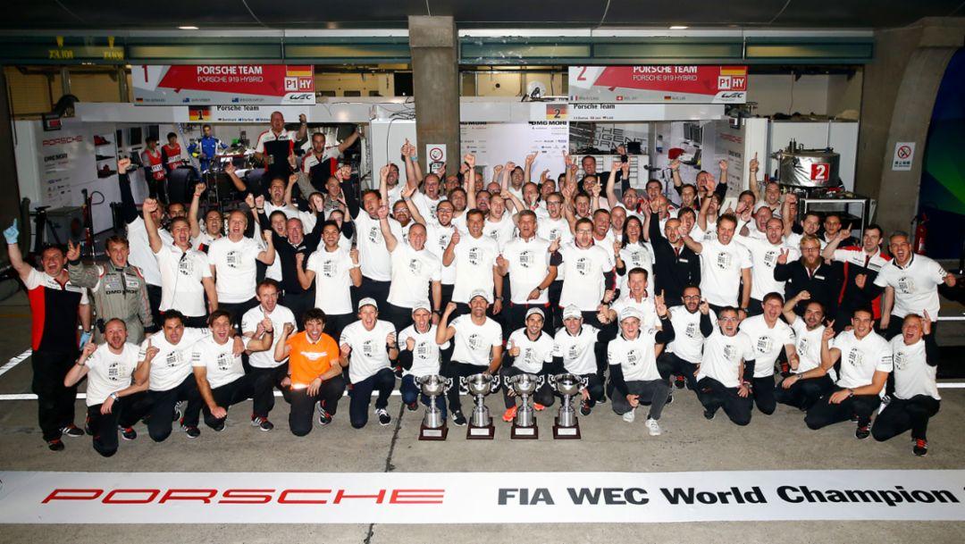 Porsche Team, WEC, Shanghai, 2016, Porsche AG