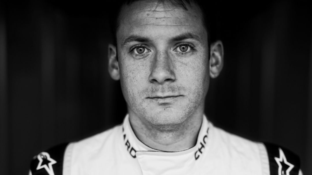Nick Tandy, LMP works driver, 2017, Porsche AG