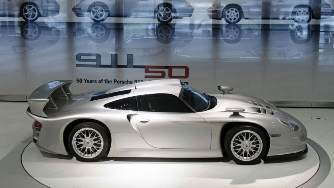 911 GT1, 1997, Porsche AG