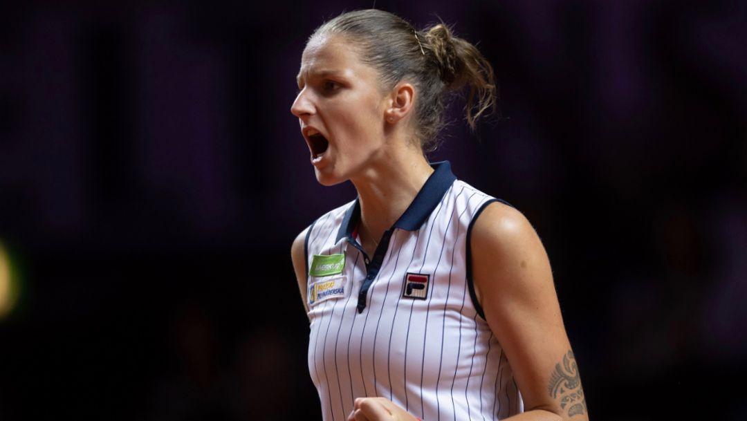 Karolina Pliskova, Porsche Tennis Grand Prix, Tag 8, Stuttgart, 2018, Porsche AG