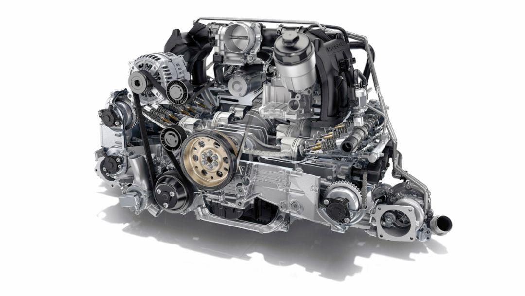 Porsche 911 Carrera, six-cylinder engine, 2016, Porsche AG
