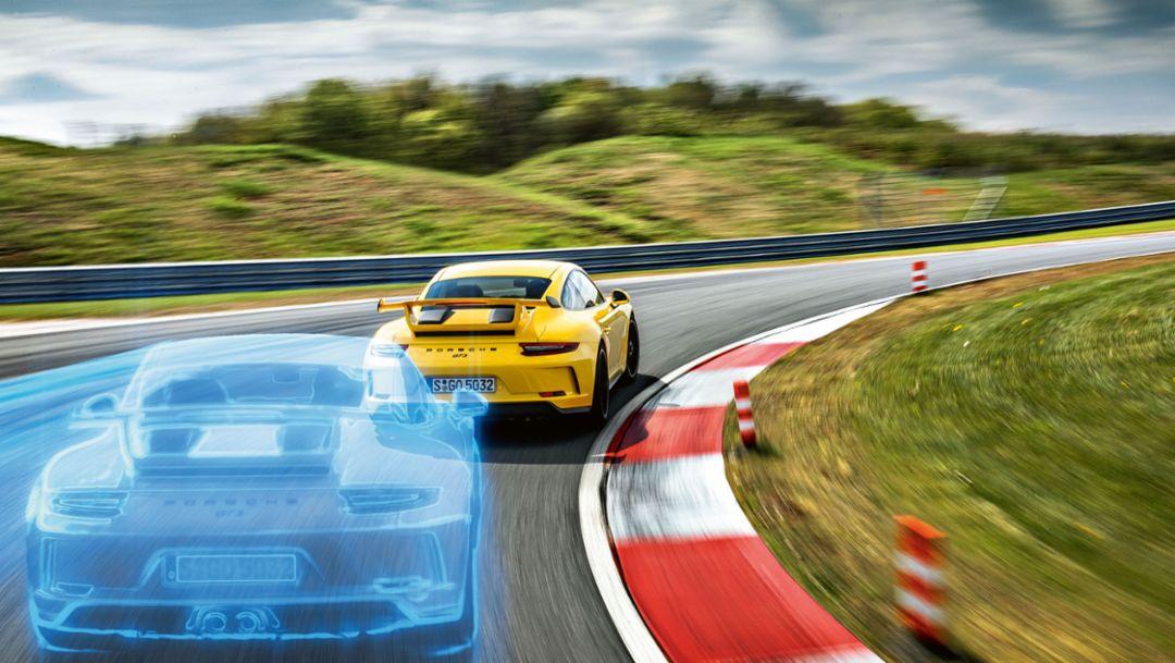 Porsche Track Precision App, 2017, Porsche AG