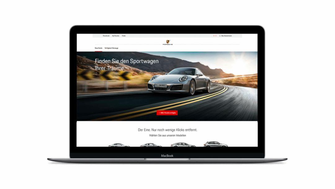 Porsche Finder, 2018, Porsche AG