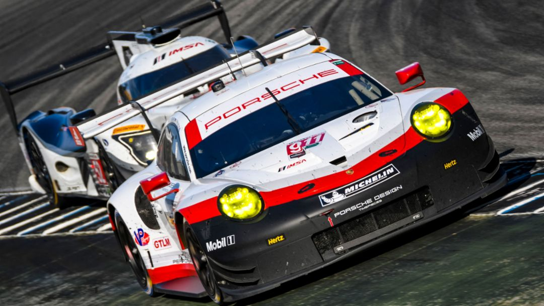 911 RSR, race, IMSA WeatherTech SportsCar Championship, Laguna Seca/USA, 2017, Porsche AG
