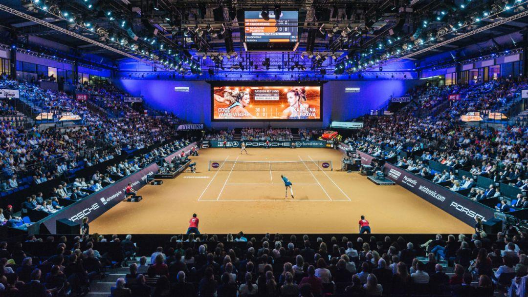 Kartenvorverkauf für Porsche Tennis Grand Prix 2019
