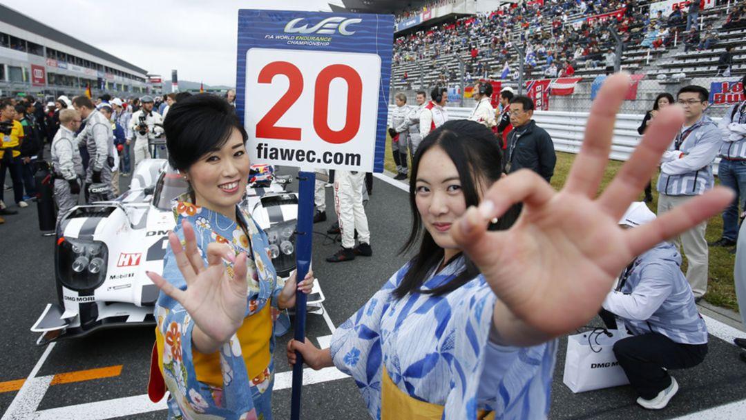 WEC, Fuji, Japan, 2014, Porsche AG