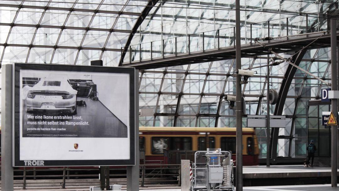 Employer branding campaign: Porsche shows its true colours