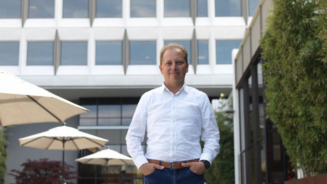 Thilo Koslowski, Geschäftsführer Porsche Digital, 2017, Porsche AG