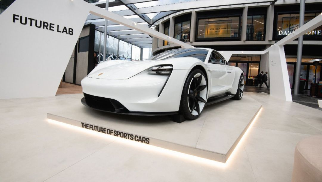 Porsche to display Mission E concept in Sydney