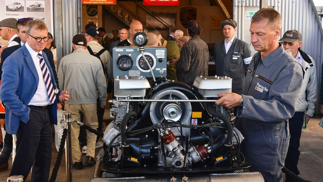 Goodwood Revival, Goodwood Motor Circuit, Südengland, 2018, Porsche AG