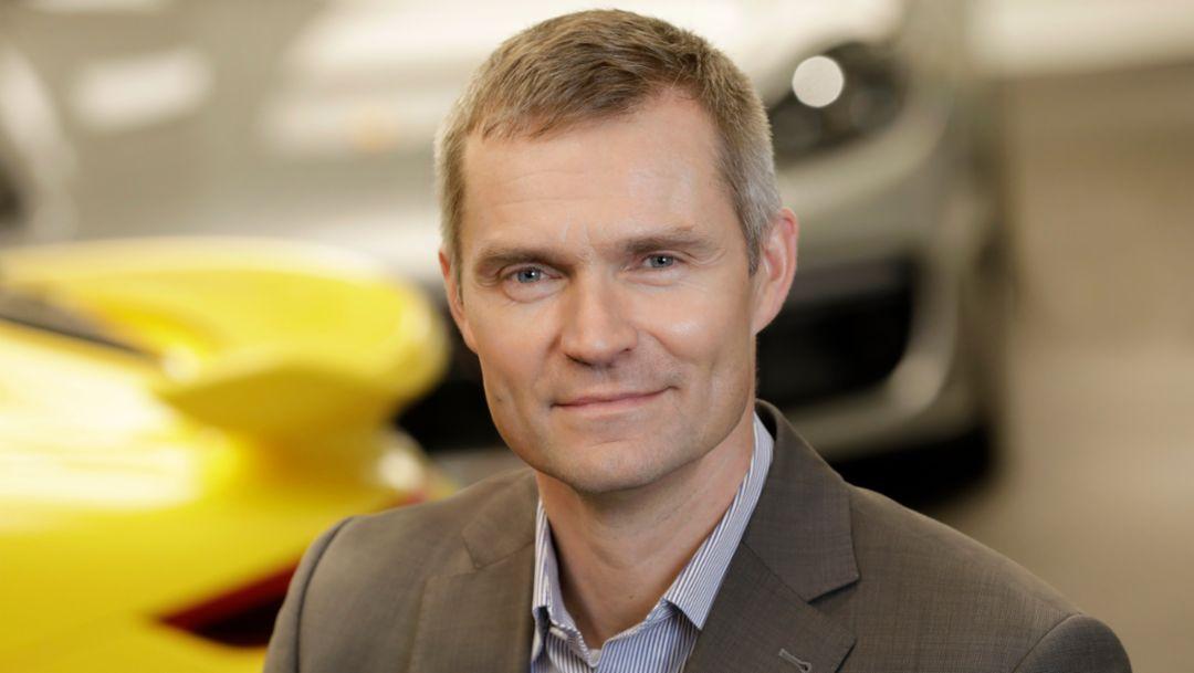 Daniel Schukraft, Vice President Aftersales, 2018, Porsche AG
