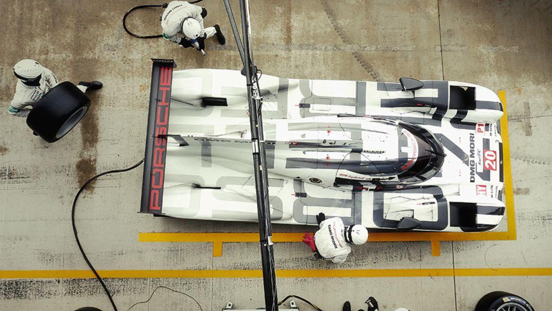 919 Hybrid, Boxenstop, 2014, Porsche AG