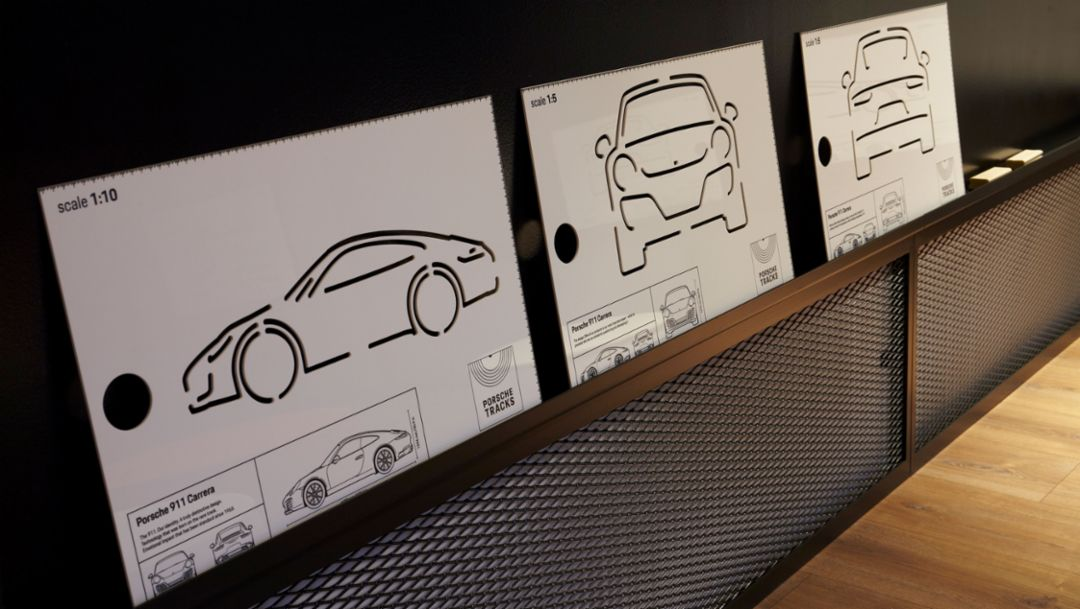 "Pop-up-Store ""Porsche Tracks"", Madrid, Spanien, 2017, Porsche AG"