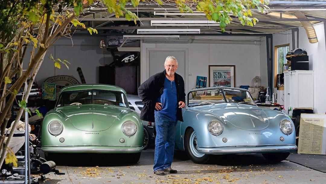 Zwei von Drei: Greg O'Keefe und seine Porsche