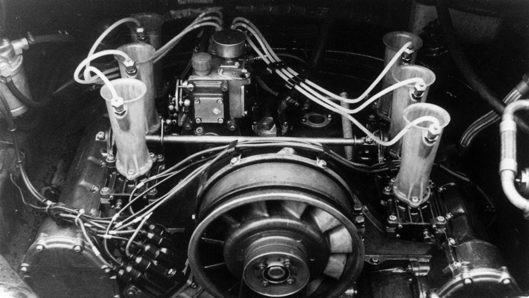 Sechszylindermotor 911 R 2,0 Coupé, 1967, Porsche AG