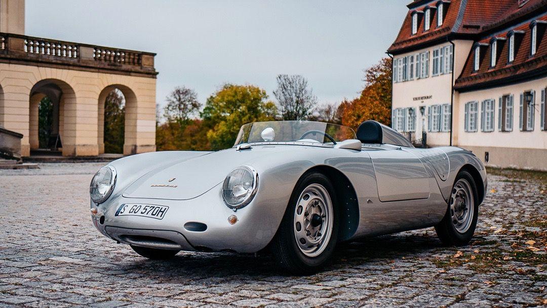 550 A Spyder, Schloss Solitude, Stuttgart, 2018, Porsche AG