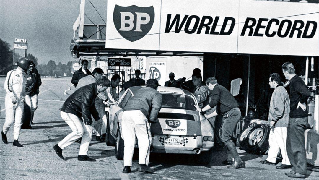 Pit stop, Autodromo Nazionale di Monza, 1967, Porsche AG