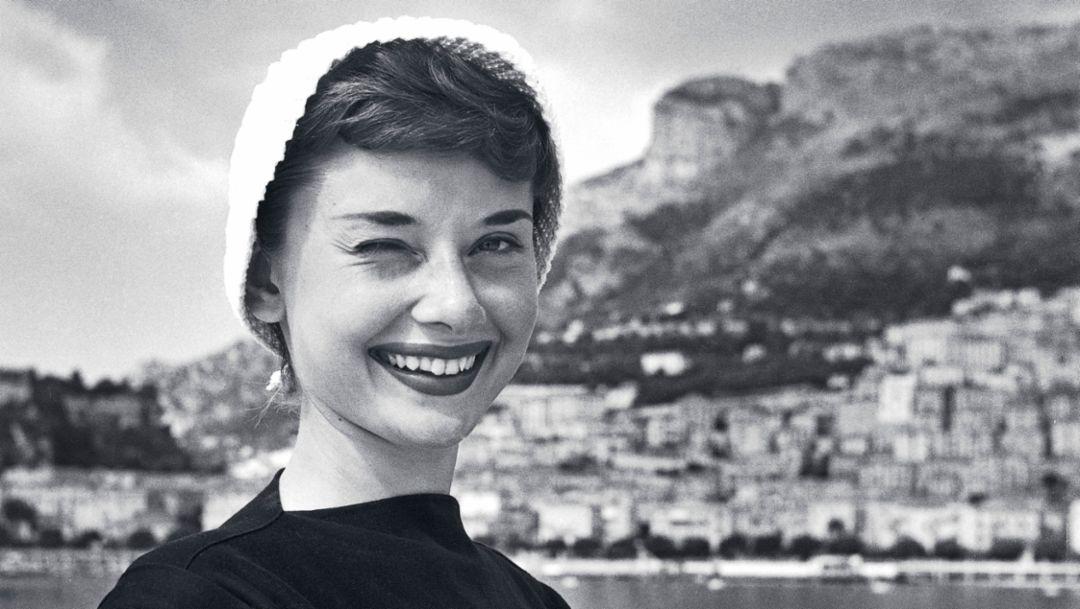 Audrey Hepburn, 1951, Porsche AG