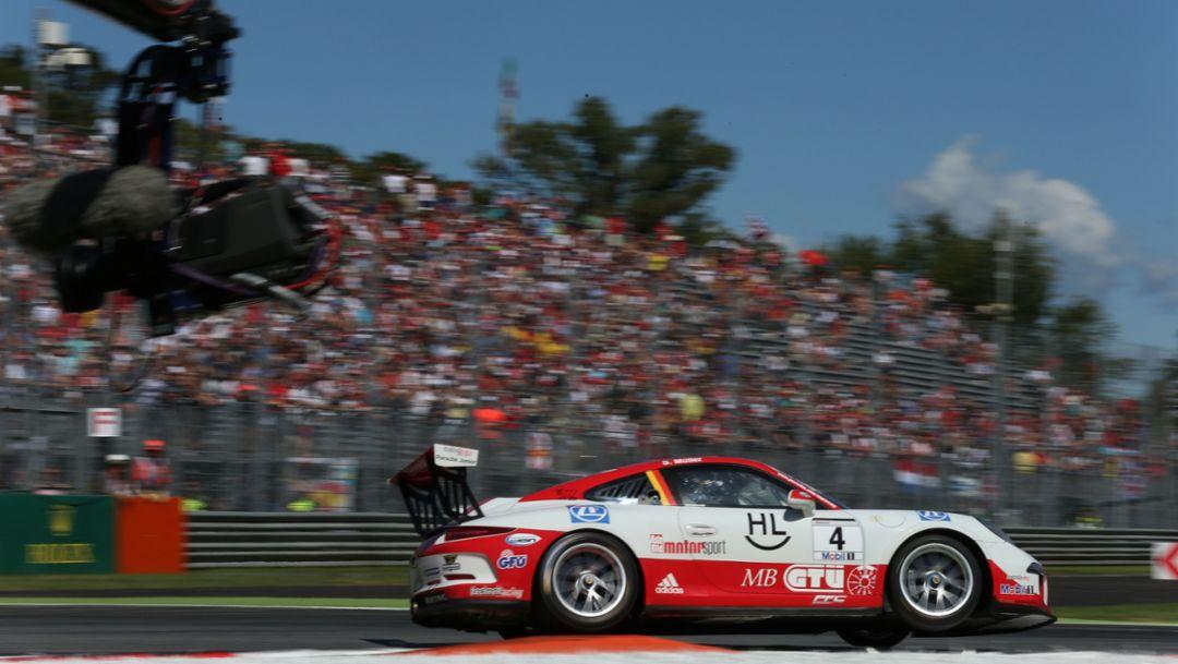 Sven Müller, 911 GT3 Cup, Porsche Mobil 1 Supercup Monza 2015, Porsche AG