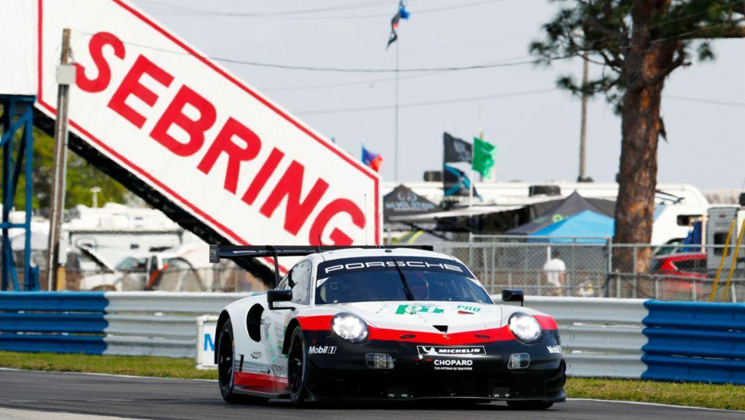 Wie Le Mans – nur in den USA: Härtetest für Porsche in Sebring