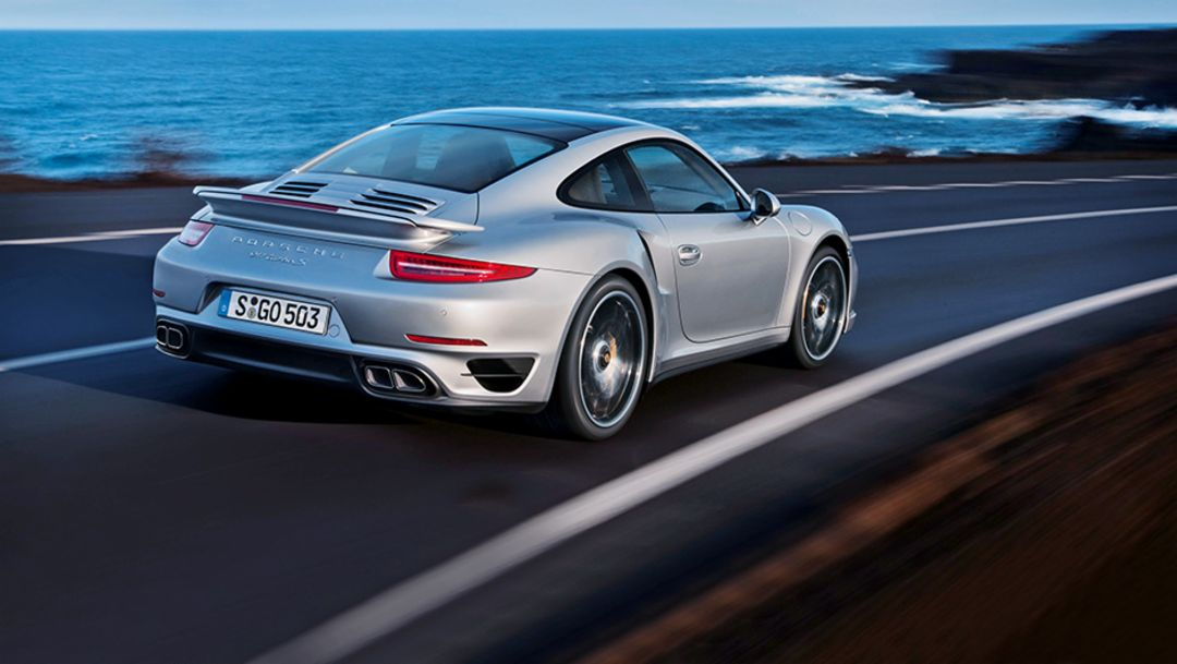 911 Turbo S, 2014, Porsche AG