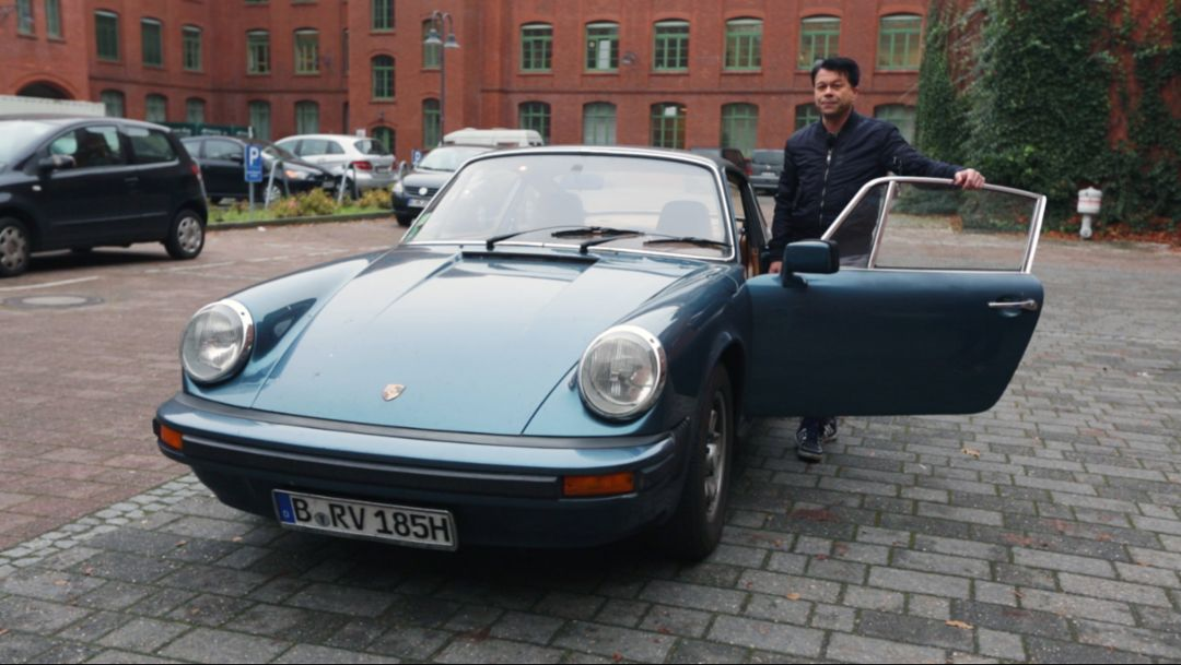 Markus Kavka, journalist, 911 SC, year of constrution 1979, 2014, Porsche AG